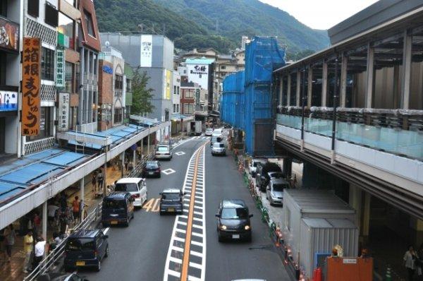 1日目午前: 箱根湯本駅周辺で食べ歩き