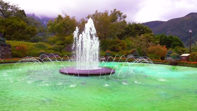 1日目午後:箱根強羅公園