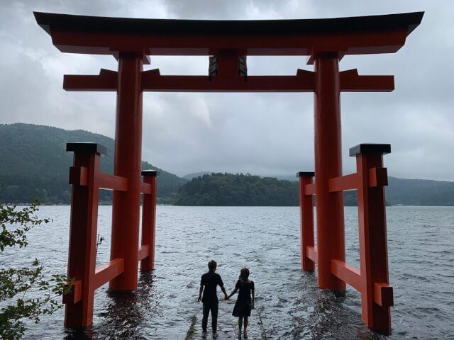 2日目午前:箱根神社へ