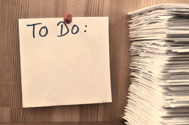 To do list を書く